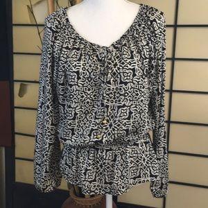 Ellen Tracy Silk blouse